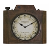 Cooper Classics Valerian Clock, Aged Bronze Finish, Under Glass