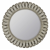 Cooper Classics Tagus Mirror, Distressed Off White Finish, Beveled Mirror
