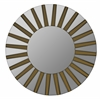 Emele Mirror, Aged Gold Finish