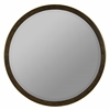 Daniel Mirror, Medium Brown Finish with Gold Highlights, Beveled Mirror