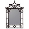 Cooper Classics Maya Mirror, Mahogany Finish