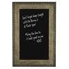 Lyon Chalk Board, Natural Gray Wash Finish