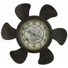Cooper Classics Landon Clock, Rust Finish, Under Glass