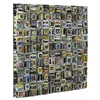 Zamia Wall Hanging, Textured Recycled Newspaper Finish