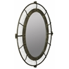 Agda Mirror, Rustic Bronze Finish