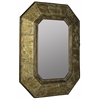 Tenoch Mirror, Natural Tree Bark Finish with Gold Accents, Finish will vary
