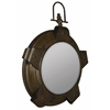 Lolek Mirror, Aged Copper Finish, Beveled Mirror