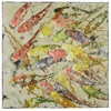 Cooper Classics Koi I, Hand Painted, Textural Paint on Canvas
