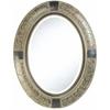 Cooper Classics Sawyer Mirror, Aged Verdigris Finish, Beveled Mirror