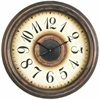 Potter Clock, Aged Bronze Finish, Under Glass