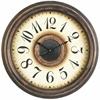 Cooper Classics Potter Clock, Aged Bronze Finish, Under Glass