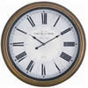 Cooper Classics Henley Clock, Toffee Finish, Under Glass