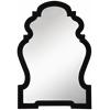 Cooper Classics Harrison Mirror, Glossy Black Finish