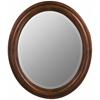Cooper Classics Addison Oval Mirror, Vineyard Finish, Beveled Mirror
