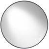 Cordova Round Mirror, Mocha Finish