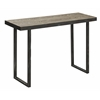 Cooper Classics Fallon Console Table, Distressed Wood and Metal Finish