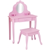 KidKraft Medium Diva Table & Stool- Pink