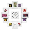 Infinity Instruments Time Capsule White Finish Photo Frames w/ Open Face