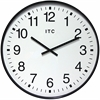 """Infinity Instruments Clarke 19"""" Round Shatter Resistant ATA Clock"""