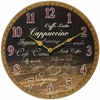 "Infinity Instruments Morning Brew 13.5"" Coffee Wall Clock"