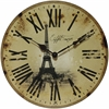 "Infinity Instruments Eiffel Tower 14"" Tower Wall Clock"