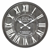 "Infinity Instruments Old Town 26.75"" Old Town Metal Wall Clock"