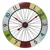 "Infinity Instruments Colorwheel Spoke Clock 31.5"" Spoke Wall Clock"