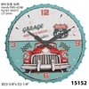 "Infinity Instruments Route 66 24"" Route 66 Wall Clock"