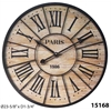 "Infinity Instruments Paris Wall Clock 23.5"" Paris Wall Clock"