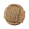 Pomeroy Sailors Knot Decorative 4-Inch Sphere, Jute