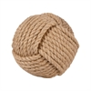 Pomeroy Sailors Knot Decorative 6-Inch Sphere, Jute
