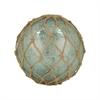 Pomeroy Pescador 6-Inch Sphere, Azure Artifact,Jute