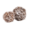 Pomeroy Crystals Spheres - Set of 2, Brown,Clear