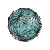 Pomeroy Camile Decorative 4-Inch Sphere In Antique Turquoise Artifact, Rustic,Antique Turquoise Artifact