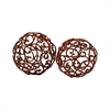 Pomeroy Corona Decorative Spheres - Set of 2, Montana Rustic