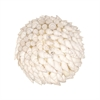 Pomeroy Hermit Shell Decorative Sphere In White, White