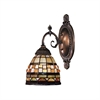 ELK lighting Mix-N-Match 1 Light Wall Sconce In Classic Bronze
