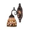 ELK lighting Mix-N-Match 1 Light Wall Sconce In Tiffany Bronze