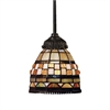 Mix-N-Match 1 Light Pendant In Classic Bronze