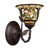 ELK lighting Latham 1 Light Wall Sconce In Tiffany Bronze