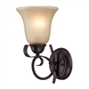 Cornerstone Brighton 1 Light Wall Sconce In Oil Rubbed Bronze