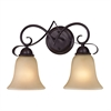 Cornerstone Brighton 2 Light Bath Bar In Oil Rubbed Bronze