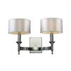 ELK lighting Pembroke 2 Light Wall Sconce In Polished Nickel
