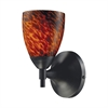 ELK lighting Celina 1 Light Sconce In Dark Rust And Espresso