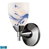 ELK lighting Celina 1 Light LED Sconce In Polished Chrome And Mountain