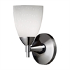 Celina 1 Light Sconce In Polished Chrome And Simple White