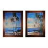 Embellished Tropical Breeze I & Ii By