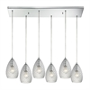 Geval 6 Light Pendant In Polished Chrome