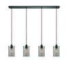 Brant 4 Light Pendant In Oil Rubbed Bronze