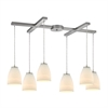 Sandstorm 6 Light Pendant In Satin Nickel